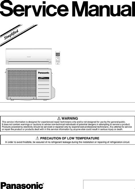 panasonic air conditioner parts list panasonic air conditioner cs ce9gkew user guide