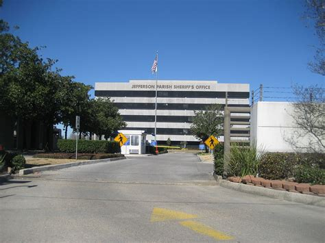 Jefferson Parish Sheriffs Office by Harvey Louisiana