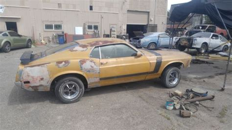 mustang boss  factory  speed project car