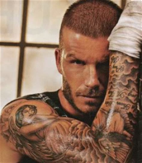 david beckham tattoo regret hot line care david beckham tattoos