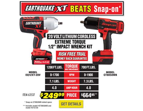 new harbor freight cordless tools lithium 20v earthquake see what s new at harbor freight