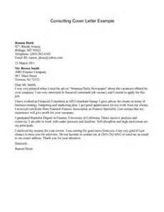 Cover Letter For Mckinsey by Consulting Cover Letter Exles Letter Of Recommendation