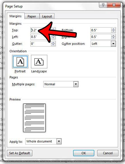 how to create perfectly proportioned page margins how to adjust header margins in excel 2010 how to change