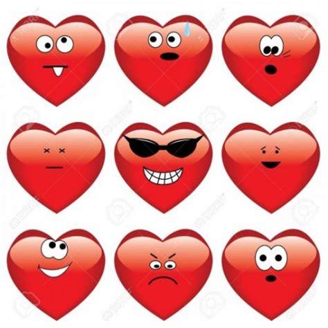 imagenes de corazones graciosos 25 im 225 genes bonitas de corazones con mensajes de amor para