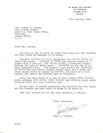 letter sincerely kind