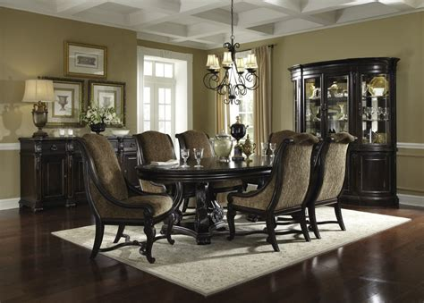 black formal dining room sets formal dining room sets amazing round formal dining room