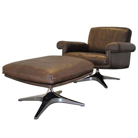 de sede vintage de sede ds 31 swivel lounge armchair and ottoman