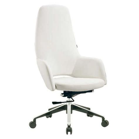white executive desk chair desk chair white leather white office chairs without arms