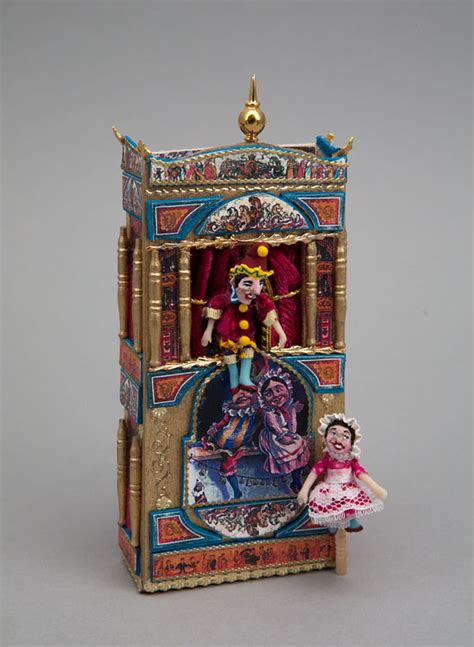 Handmade Puppet Theatre - sam showcase of miniatures at the show