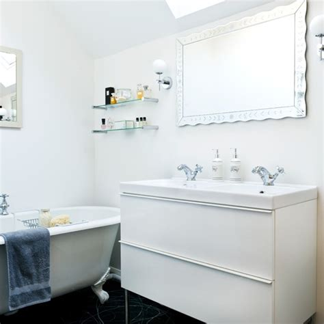 all white bathroom ideas traditional white bathroom period decorating ideas