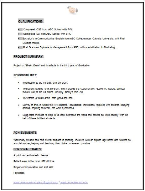 Mba Careers With No Experience by Mba Marketing Resume Sle Doc 2 Career