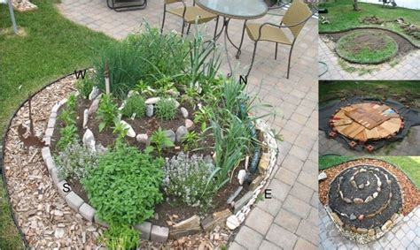 diy spiral herb gardens pictures photos and images for facebook tumblr pinterest and twitter how to make a diy herb spiral garden pictures photos and