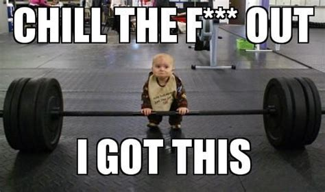 Weight Lifting Memes - baby weightlifting meme slapcaption com weightlifting