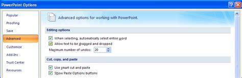 powerpoint tutorial 2007 advanced set editing options editing options 171 editing format