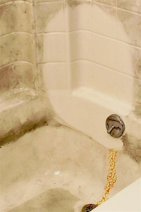 how to remove iron stains from bathtub 16 oz scum off shower cleaner