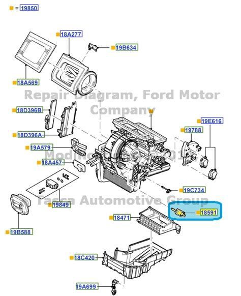 new oem ac blower motor resistor ford 2012 2013 focus 2013 escape cv6z 18591 a ebay