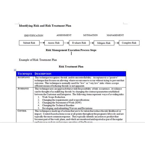 program management plan template sle