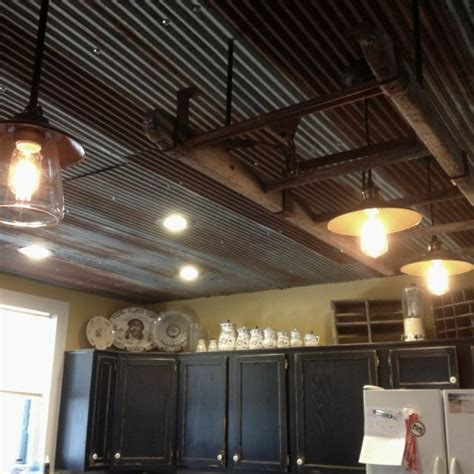 the 25 best ideas about corrugated tin ceiling on