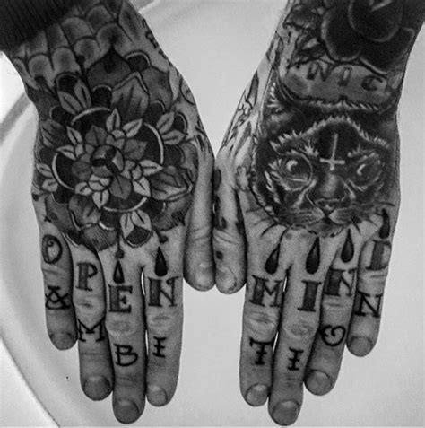 finger tattoo guys ring finger tattoo for men letting with open mind ambition