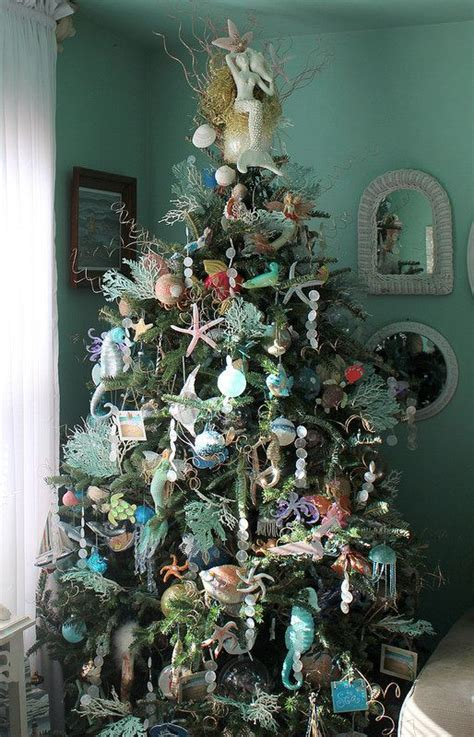 under the sea christmas tree christmas coastal beach