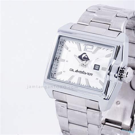 Jam Tangan Pria Quiksilver Logo Inside Rantai Silver harga sarap jam tangan quiksilver foundation silver putih