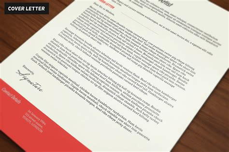 clean and modern resume and cover letter free