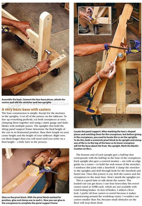 Pivoting Plywood Cart Plans ? WoodArchivist