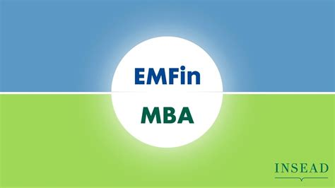 Insead Vs Stanford Mba by Executive Master In Finance Versus Mba At Insead Learn