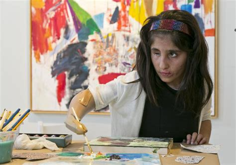 painting for seven year olds seven year artist forced to flee afghanistan