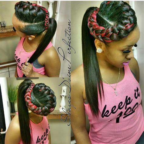 goddess braids in a ponytail forward goddess braid ponytail newclient arlingtontx