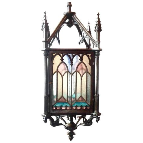 Glamorous Antique White Metal Three Branch Table Chandelier L New Ebay Beautiful Antique Bronze And Stained Glass Gas Lantern At 1stdibs