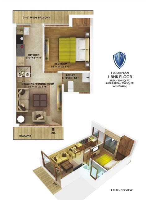 1bhk floor plan 1 bhk apartments nav city cheap best flats mohali