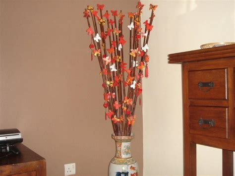 home decor sticks decorating ideas lovely images of colorful baubles bamboo