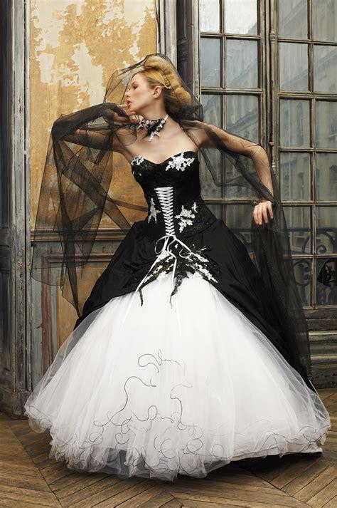 wedding dress trends black fashion