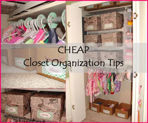 Cheap Closet Organizing Ideas simply sensational tuesday 14 organizing homelife