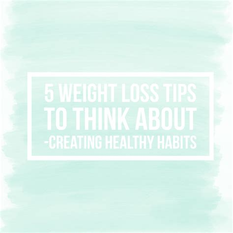 5 weight loss tips 5 weight loss tips to think about george creating