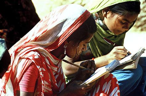 Adults India education programmes in india two mothers