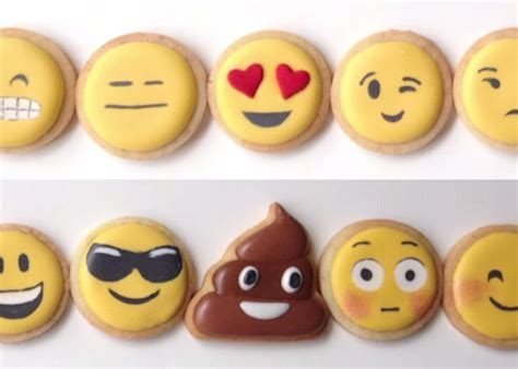 cookie emoji how to make your own emoji cookies sugar cookies a