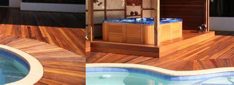 challenging timber pool decks