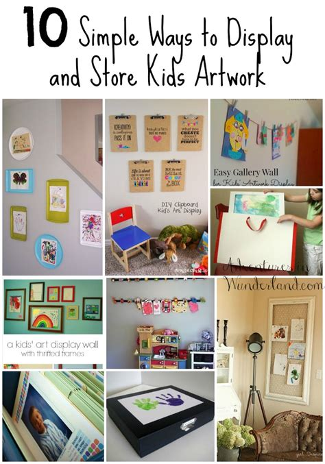 ways to display artwork 10 simple ways to display and store artwork