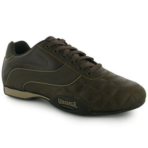 gents sports shoes lonsdale mens gents camden running trainers pumps sports