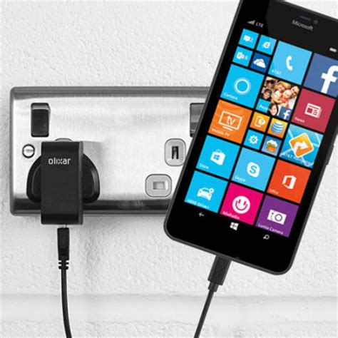 Charger Microsoft Lumia high power microsoft lumia 640 xl charger mains mobilefun polska