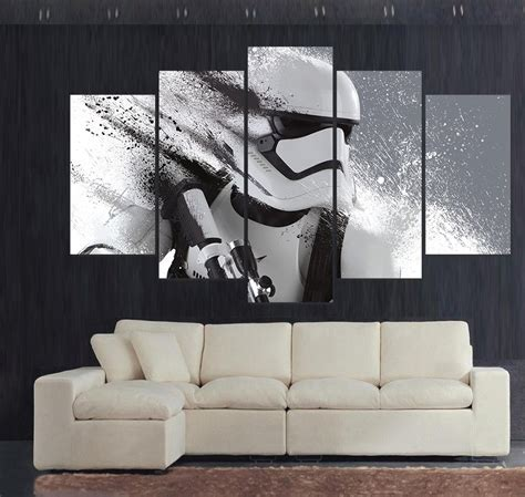 Dropship Home Decor Stormtrooper Wars Poster Picture For Living Room Painting Wall Print Decor