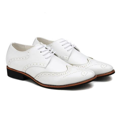 wedding shoes oxford handmade pointed toe oxford brogue dress shoes leather