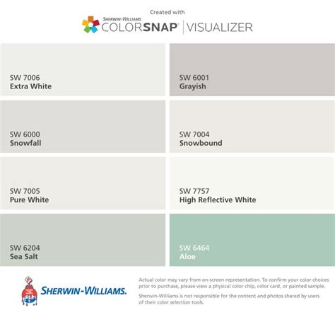 i found these colors with colorsnap 174 visualizer for iphone by sherwin williams white sw