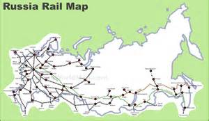 map of in russia russia rail map