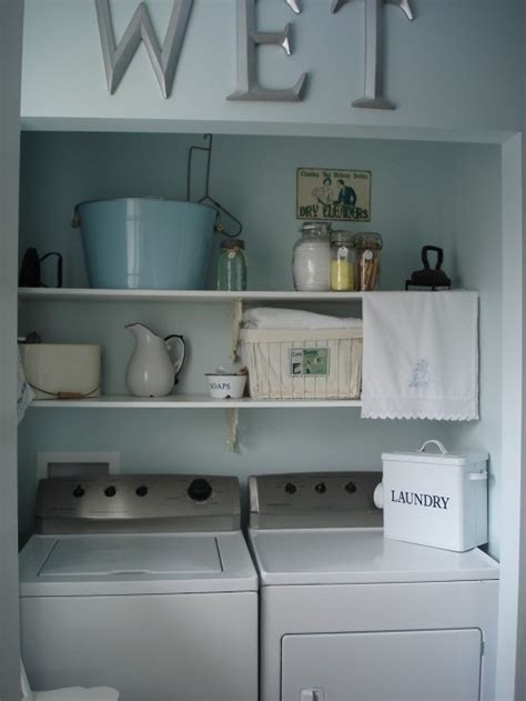 small laundry room ideas white way