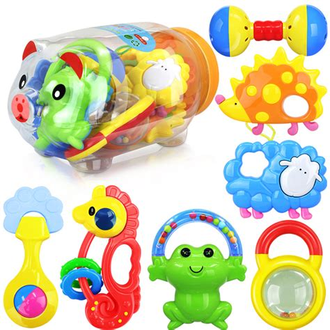 Special Baby Playset Rattle 7 Pcs 7 pcs rattles set