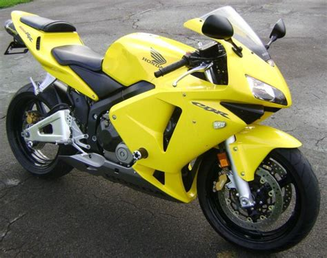 honda cbr 600 yellow buy 2003 honda cbr600rr low miles excellent condition on