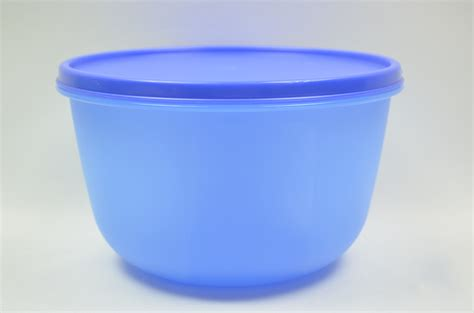 Tupperware Modular Bowl tupperware modular bowl 1701 blue with seal lid storage